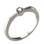 Zásnubný prsteň model 226 15 275
